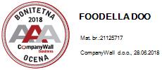 foodella bonitetna ocena